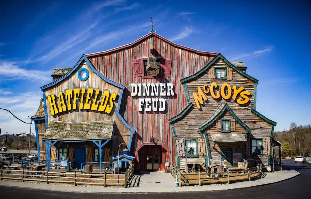 Hatfield and McCoy Dinner Feud in Pigeon Forge